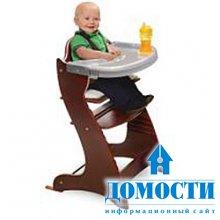 Практичный стул для кормления