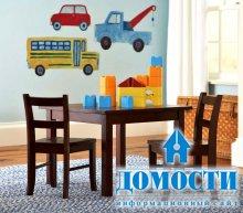 Удобная мебель для детской