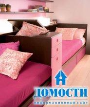 Дизайн спален для сестёр