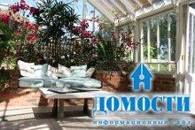 Зимний сад как украшение дома