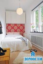 Правила оформления маленькой спальни