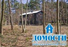 Японский дом у подножья горы