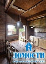 Стильный дом из дерева