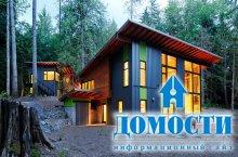 Эко-дом из поваленных деревьев