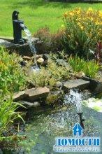 Создание пруда в саду