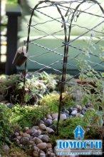Декоративные мини-сады