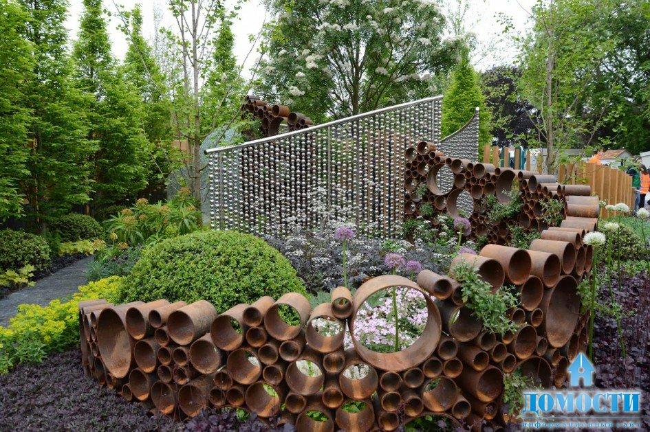 Новые садовые идеи фото