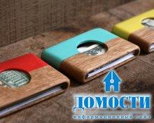 Стильные бумажники из дерева