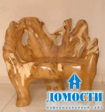 Мебель из экзотических корней