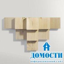 Деревянная подставка для безделушек