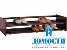 Дизайн обувниц из красного дерева