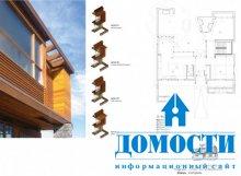 Модный дом из природных материалов