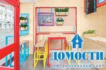 Красочный ресторан средиземноморской кухни