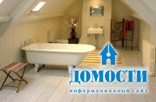 Варианты напольных покрытий для ванной комнаты