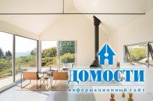 В США построен летний дом из трех частей