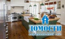 Интересные идеи для кухонных островов!