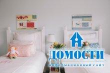 Интересные идеи для объединенной детской спальни!